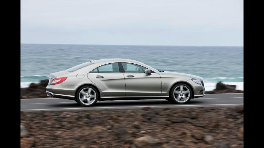 Mercedes CLS 250 CDI: primi dati tecnici