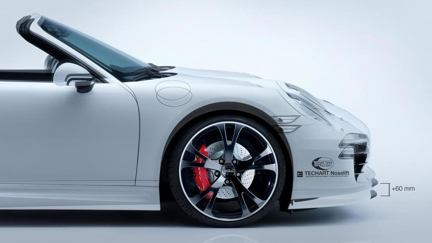 Porsche 911 Carrera 4S modified by TechArt