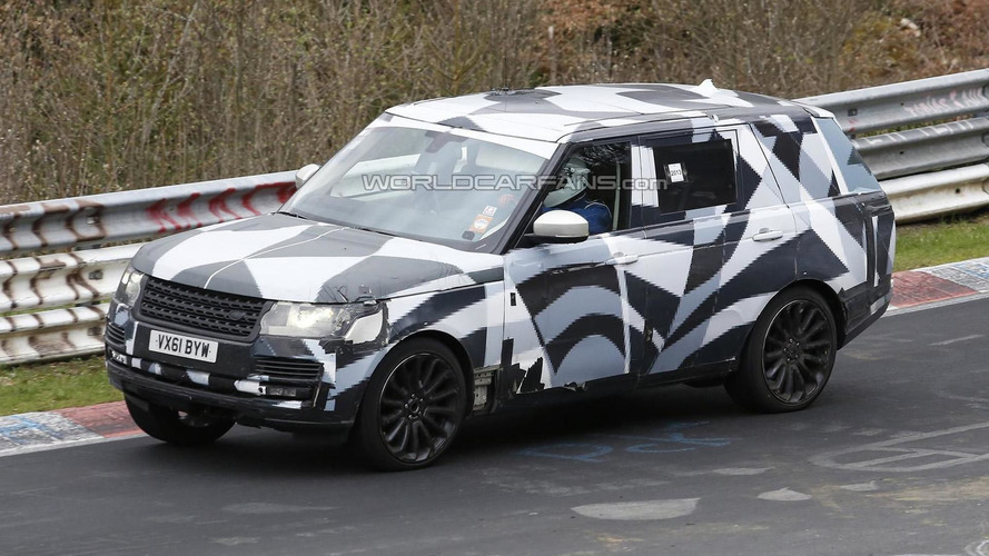 Range Rover long wheelbase variant spied again