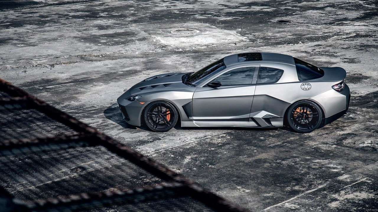 Mazda RX-8 Blacknight Coupe Project
