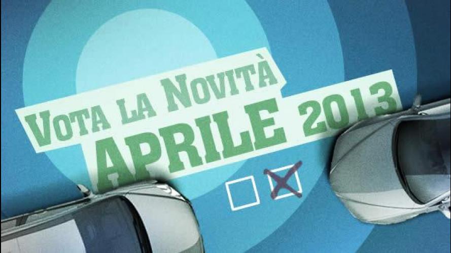 Vota la novità di aprile 2013