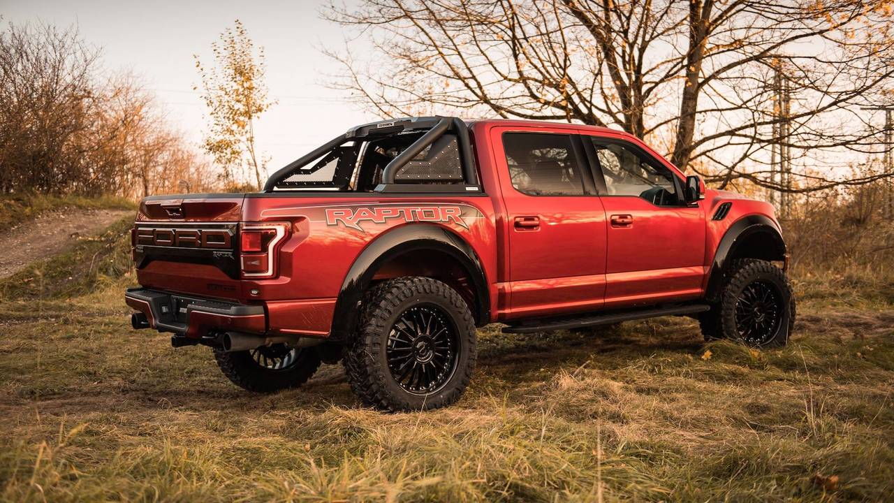 geiger gave the ford f 150 raptor a 520 hp upgrade. Black Bedroom Furniture Sets. Home Design Ideas