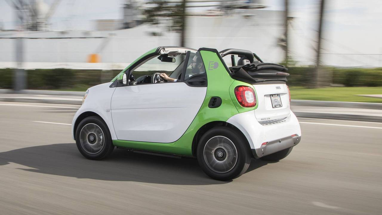 2018 Smart Fortwo Electric Drive Cabriolet Review Photo