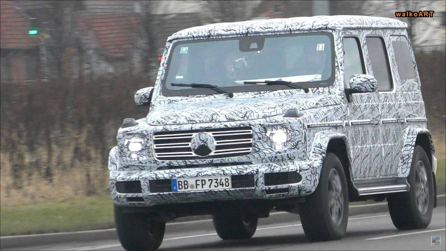 Last bit of testing for new Mercedes G-Class before January debut