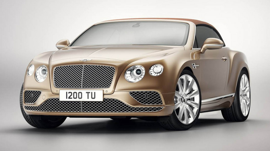 Bentley Continental GT Convertibile, la Timeless Series ferma il tempo