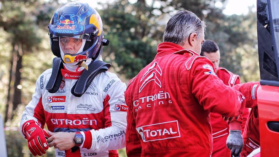 Officiel - Loeb en route pour trois rallyes WRC en 2018!