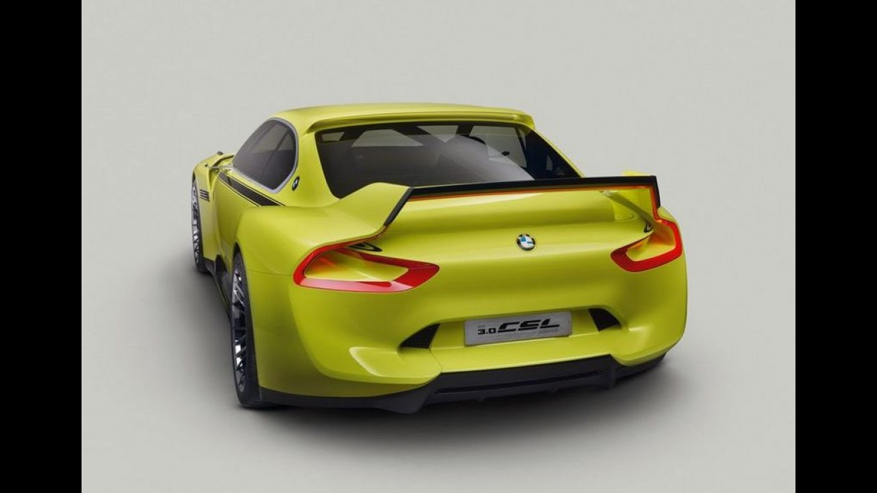 BMW revela 3.0 CSL Hommage, o