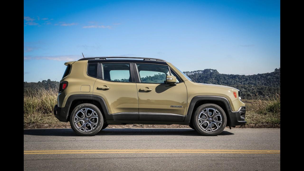Jeep Renegade sofre segundo reajuste de preços neste mês - veja tabela