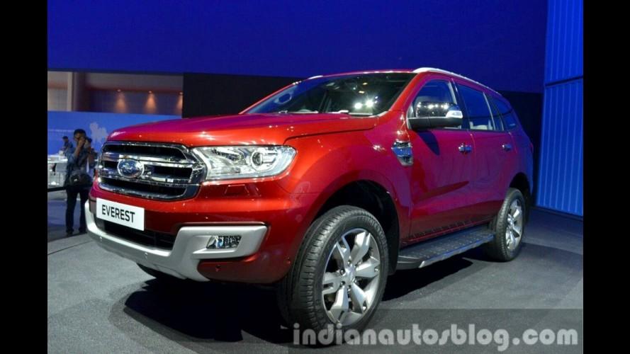 Ford Everest (SUV do Ranger) é apresentado, mas não deve aparecer no Brasil