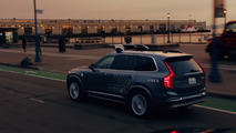 Volvo XC90 autonomous prototypes for Uber