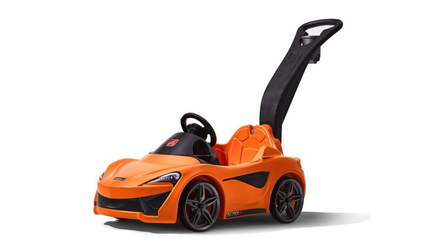 McLaren havalı çocuklar için 570S çocuk arabası geliştirdi
