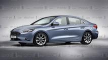 2019 Ford Focus Sedan render