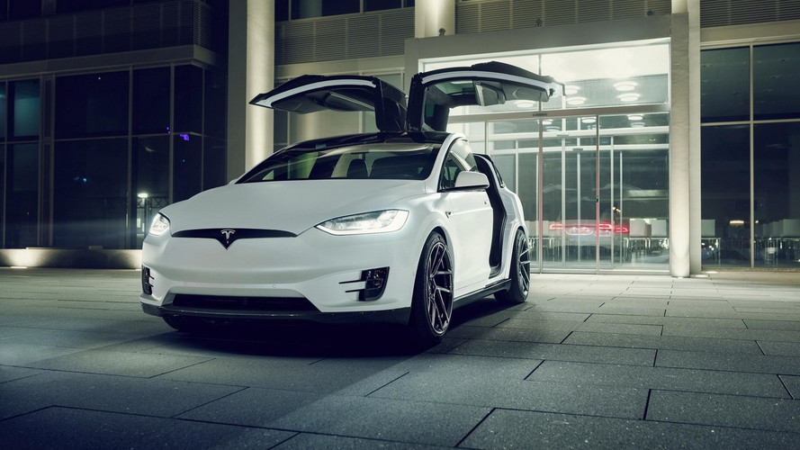 Tesla Model X Tweaked By Novitec Proves Less Is More