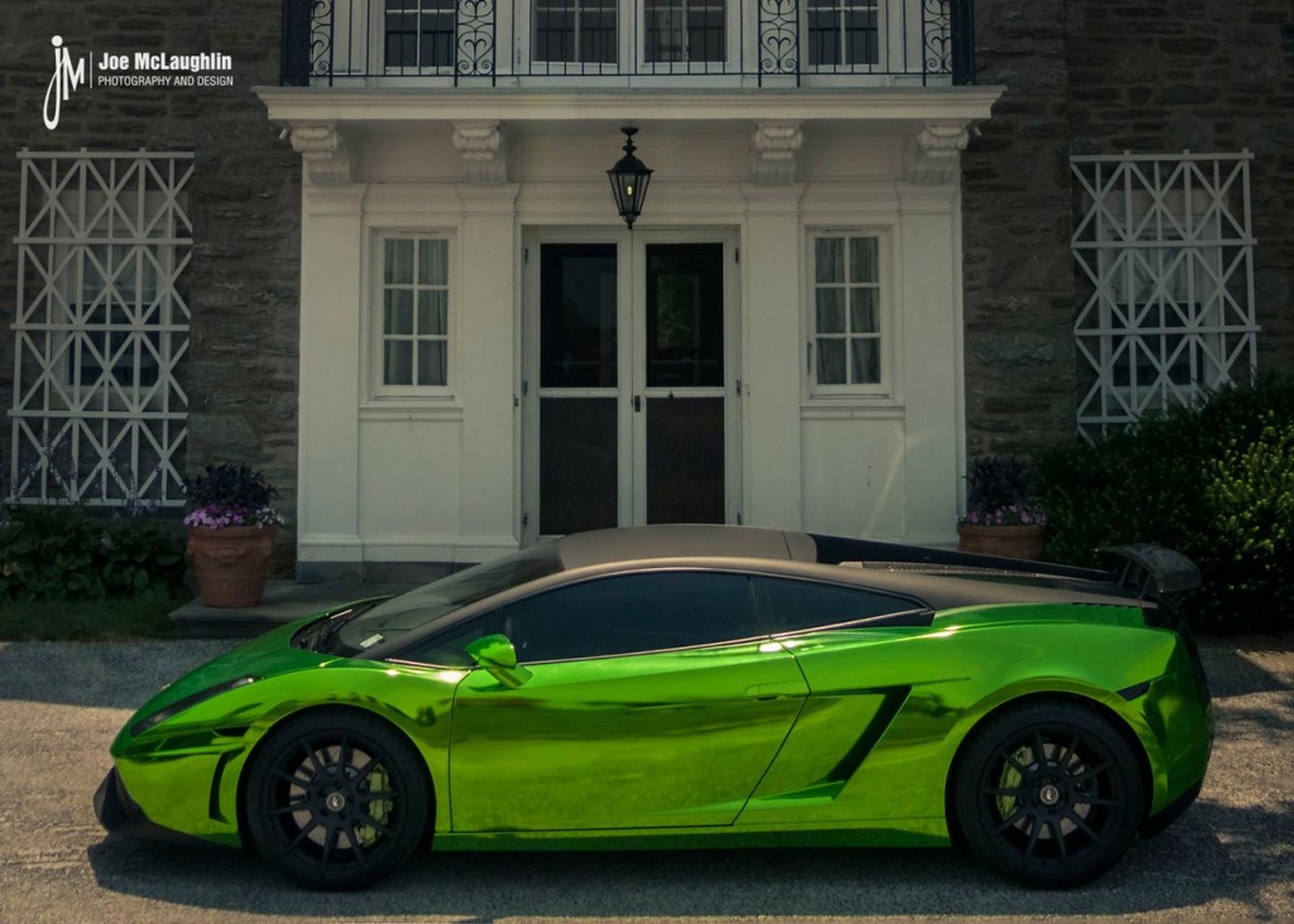 Lamborghini Gallardo Gets Gaudy in Green