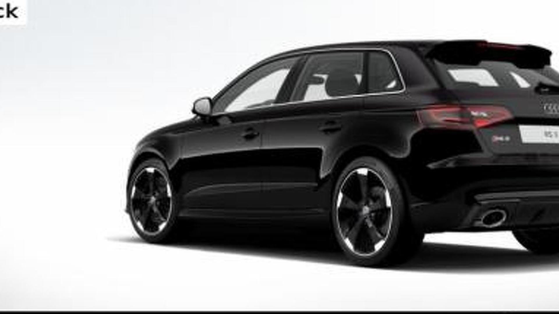 Audi Fires Up RS Sportback Online Configurator - Audi car configurator