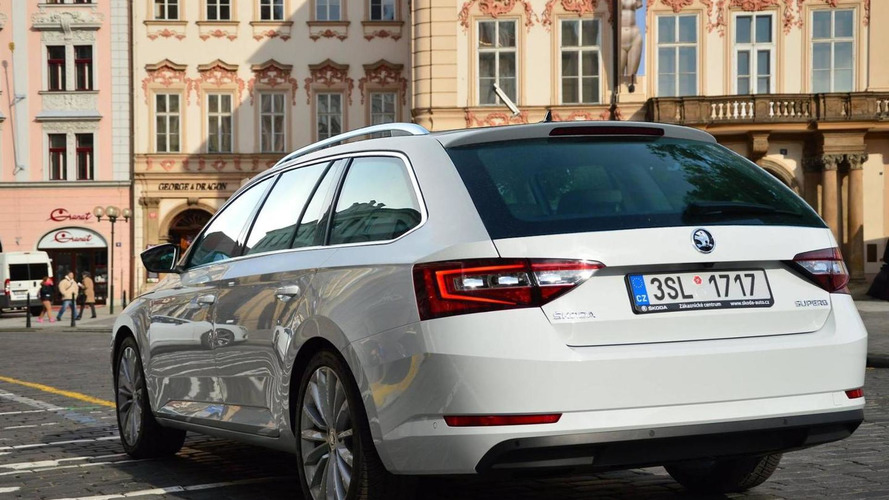 WCF reader's Skoda Superb Combi render is probably very close to reality