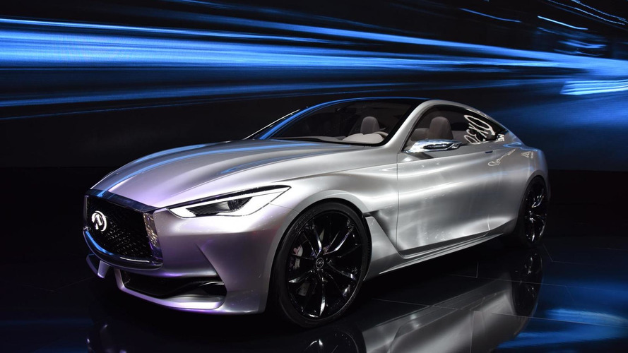 Infiniti Q60 concept shows its stylish lines in Geneva