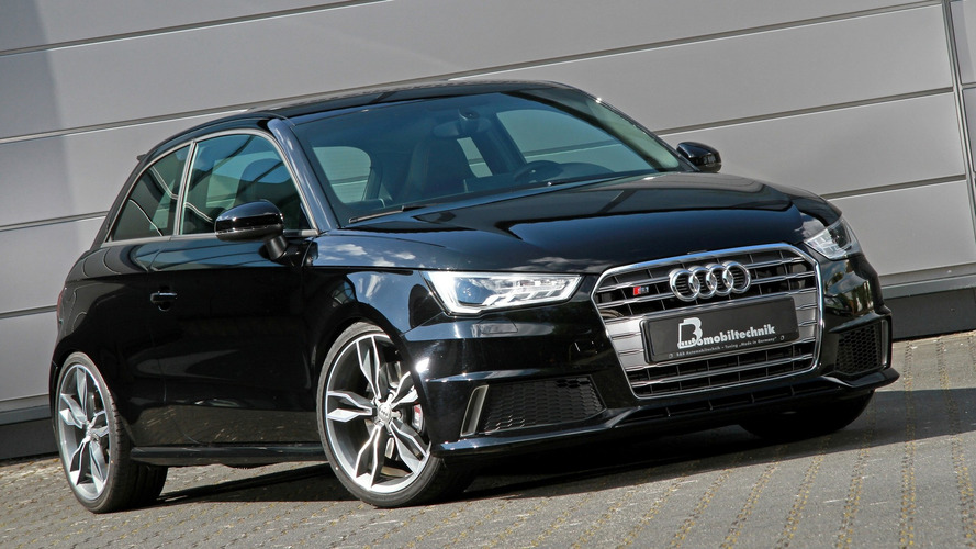 380 beygirlik Audi S1, adeta kuzu kılığında bir kurda dönüşmüş