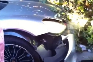Try Not to Cringe as This Porsche 918 Spyder Crashes