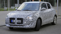 2017 Suzuki Swift spy photos