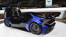 Techrules AT96 TREV supercar concept debut in Geneva