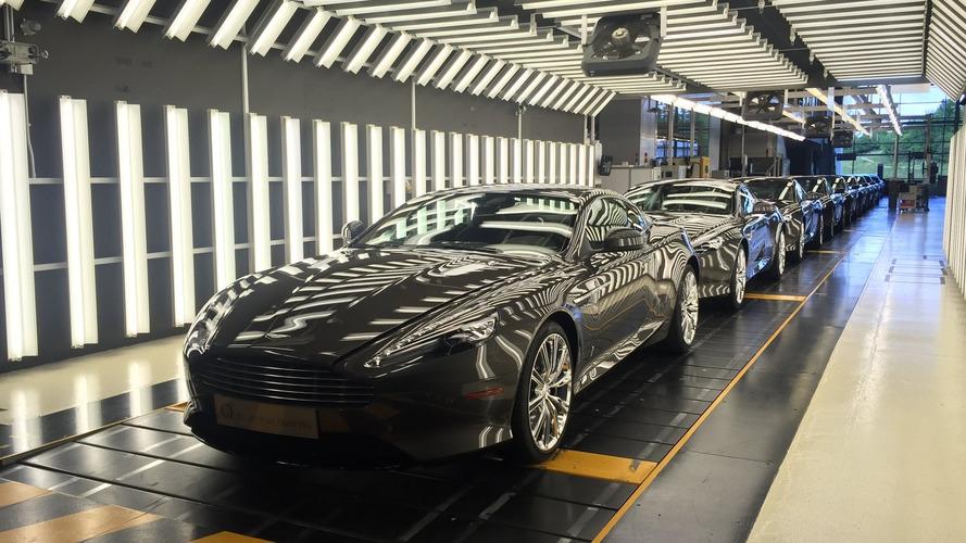 Aston Martin DB9 son 9