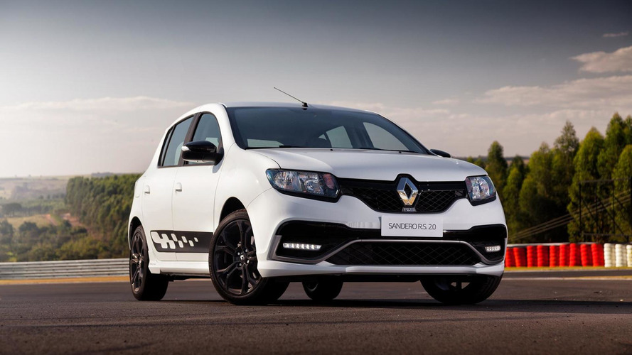 Renault highlights the Sandero RS hot hatch in new video