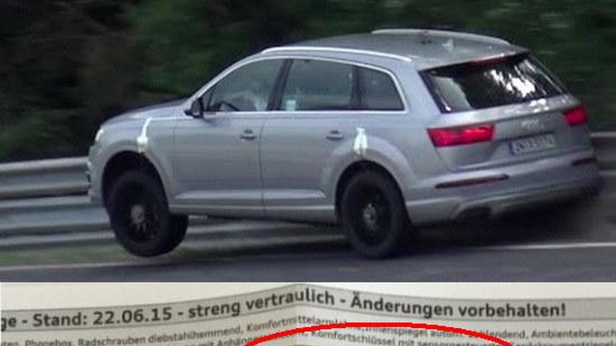 Audi SQ7 coming with 4.0-liter V8 TDI with 435 PS