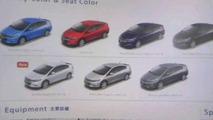 2009 Honda Insight brochure leak
