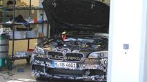 BMW M5 F10 spied lifting its lid
