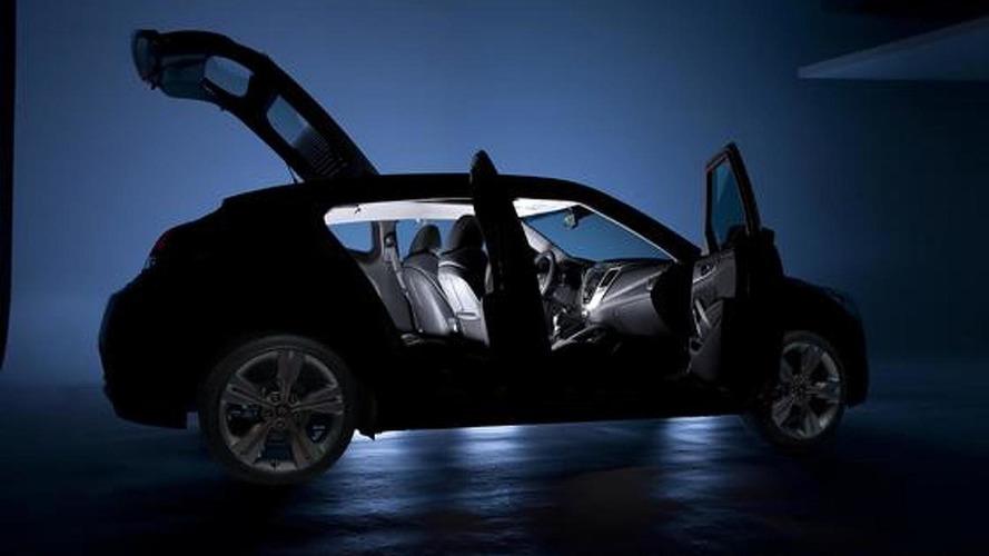 2012 Hyundai Veloster teased again
