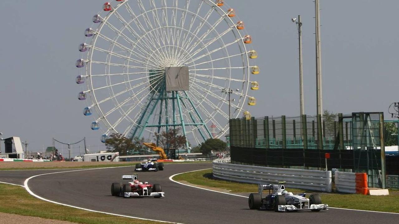 Japanese Grand Prix scene, Nick Heidfeld (GER), BMW Sauber F1 Team, F1.09, Suzuka, Japan, 03.10.2009