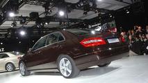 2010 Mercedes E-Class Sedan at Special Detroit Preview Event