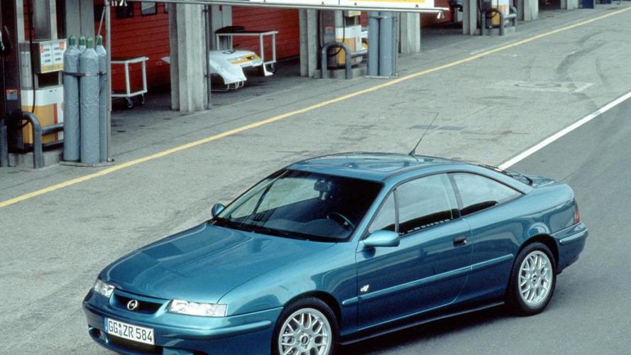 Opel celebrates the 25th anniversary of the Calibra