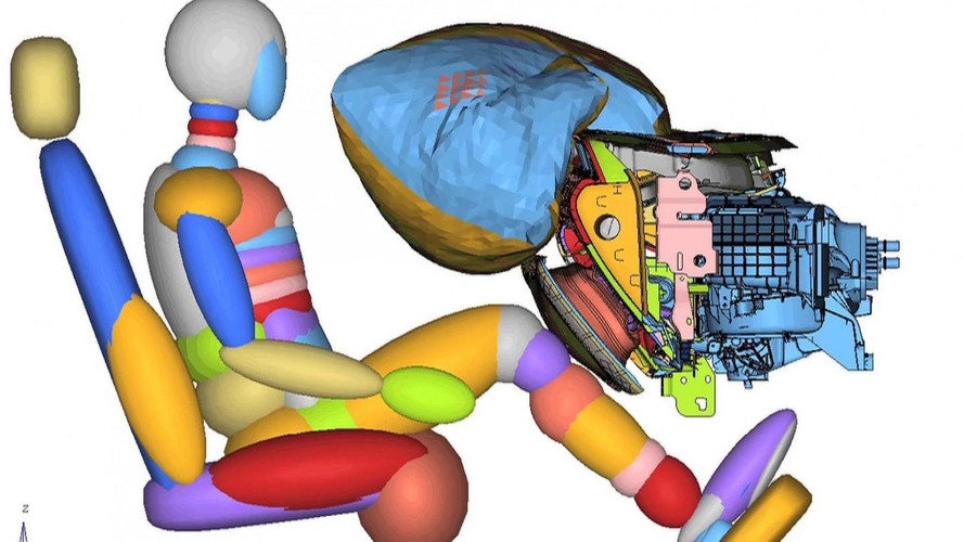 2015 Ford Mustang features industry-first active glove box knee airbag [video]