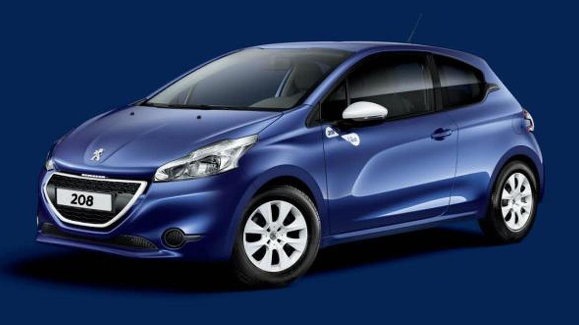 peugeot 208 like special edition announced for france. Black Bedroom Furniture Sets. Home Design Ideas