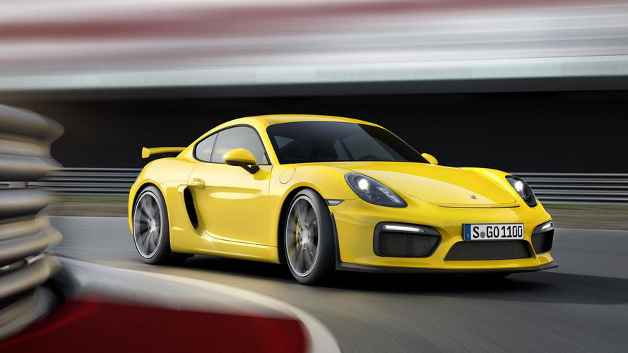 Porsche Cayman GT4 unveiled in Geneva