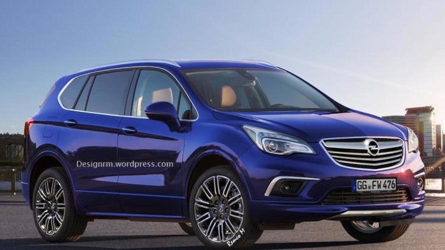 Buick Envision rendered as next-gen Opel Antara