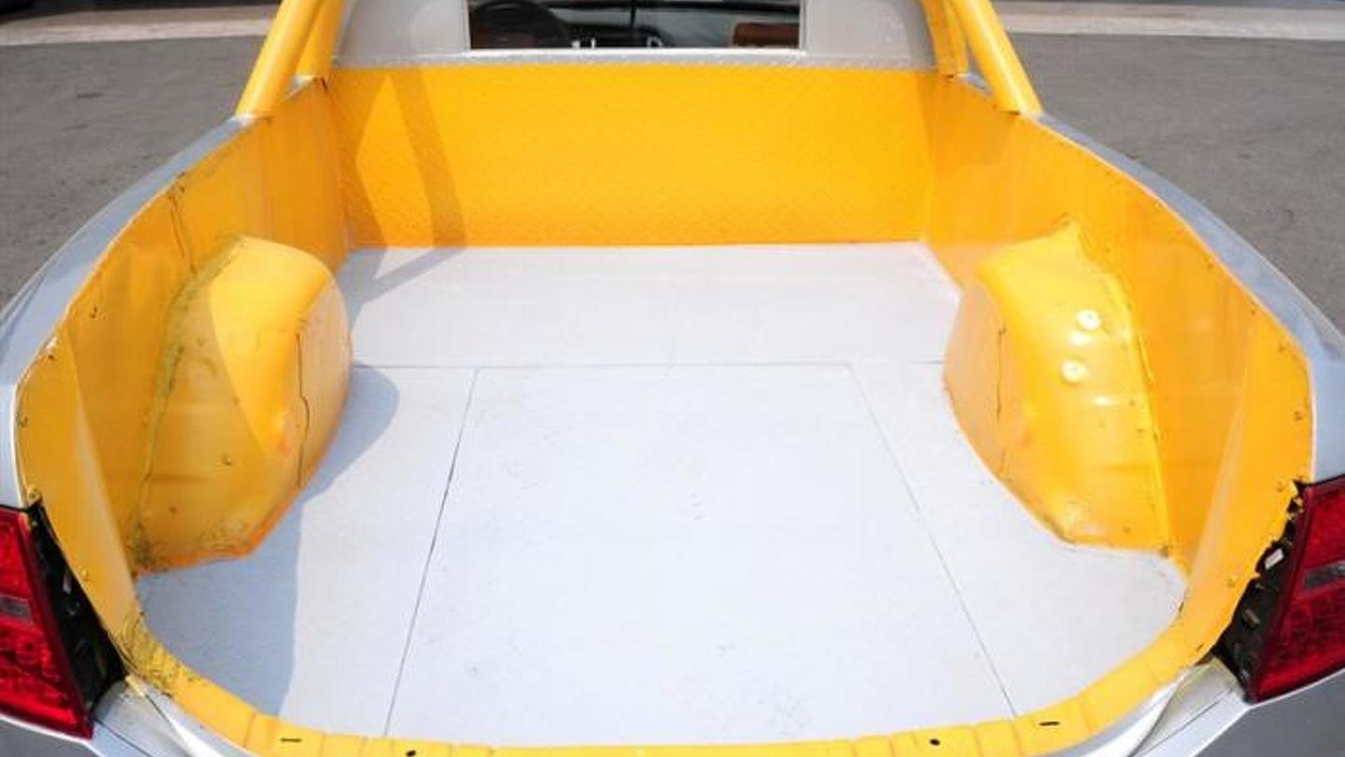 Грузовой борт пикапа Audi A6