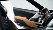 Grafit boyalı Toyota FT-1 konsepti