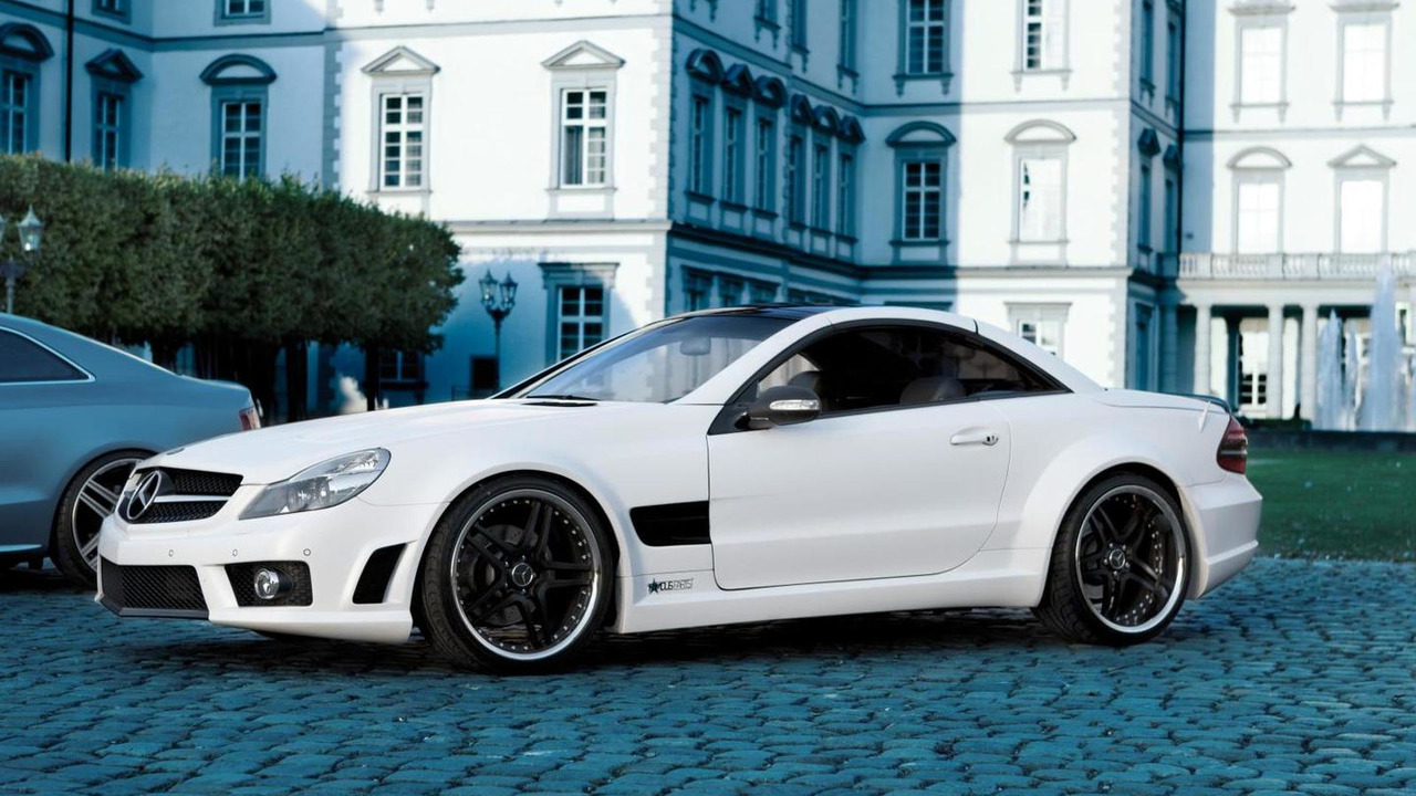Mercedes-Benz SL500 (R230) by Famous Parts