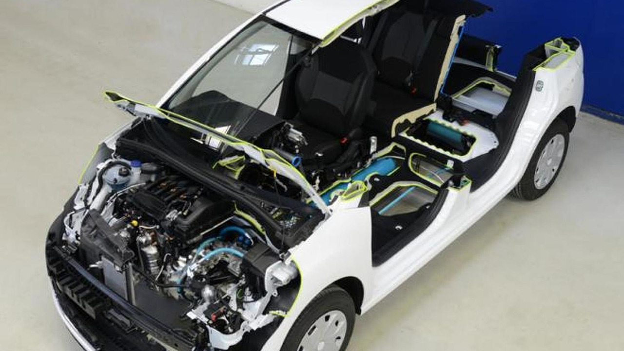 PSA Peugeot Citroën Hybrid Air powertrain