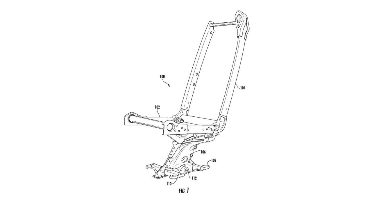 Tesla monopost chair patent