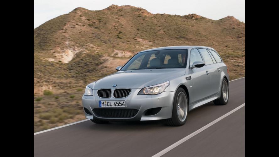 La nuova BMW M5 Touring