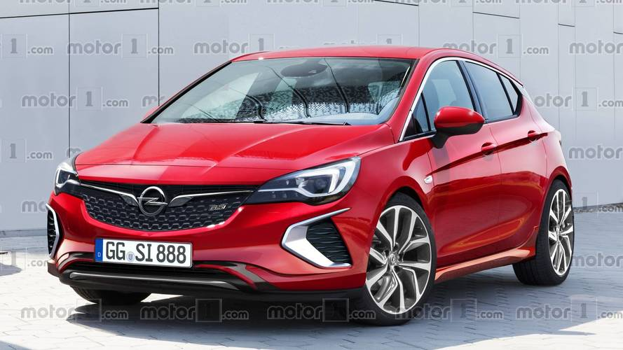 2018 opel astra gsi will probably look like this. Black Bedroom Furniture Sets. Home Design Ideas