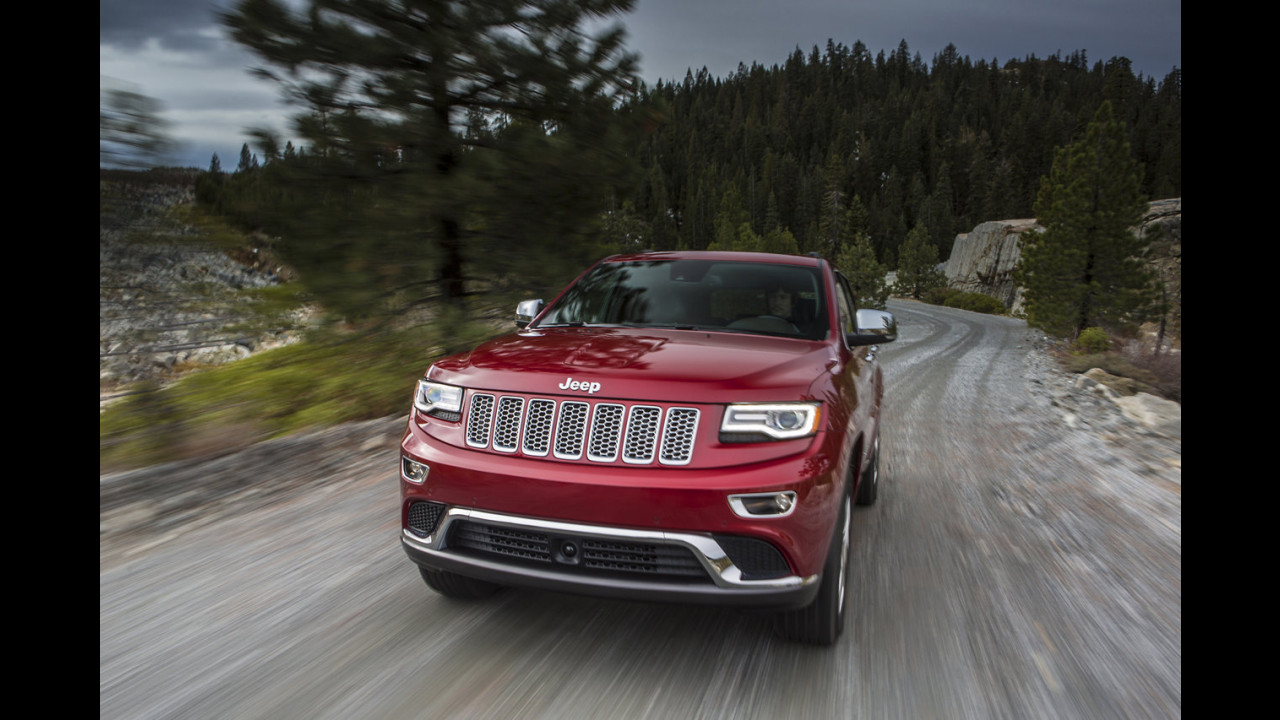 Jeep Grand Cherokee restyling
