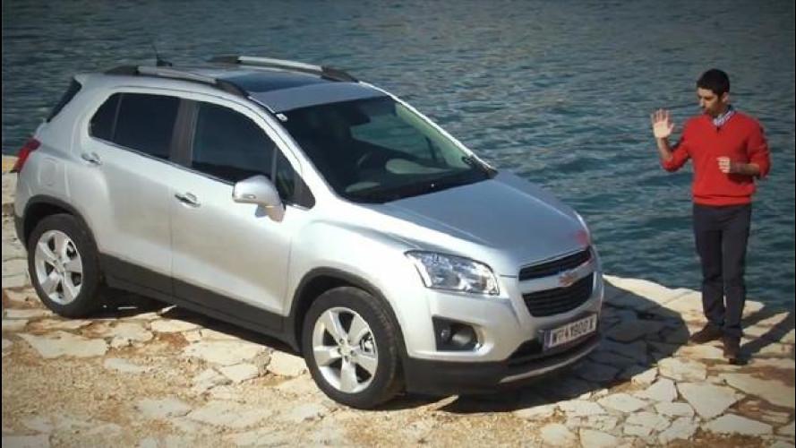 Chevrolet Trax, il SUV che vuol essere un'utilitaria [VIDEO]