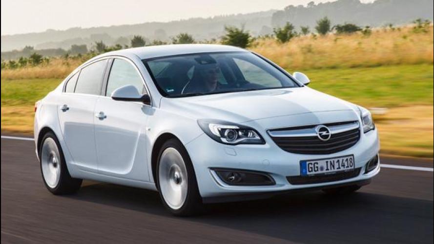 Opel Insignia, maggiore potenza e consumi ridotti