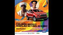 Novo EcoSport: Ford confirma show aberto ao público no Farol da Barra em Salvador - BA