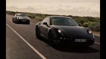 Porsche divulga vídeo do 911 2012 em ação